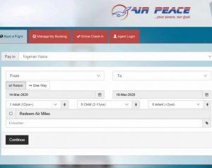 air-peace-booking