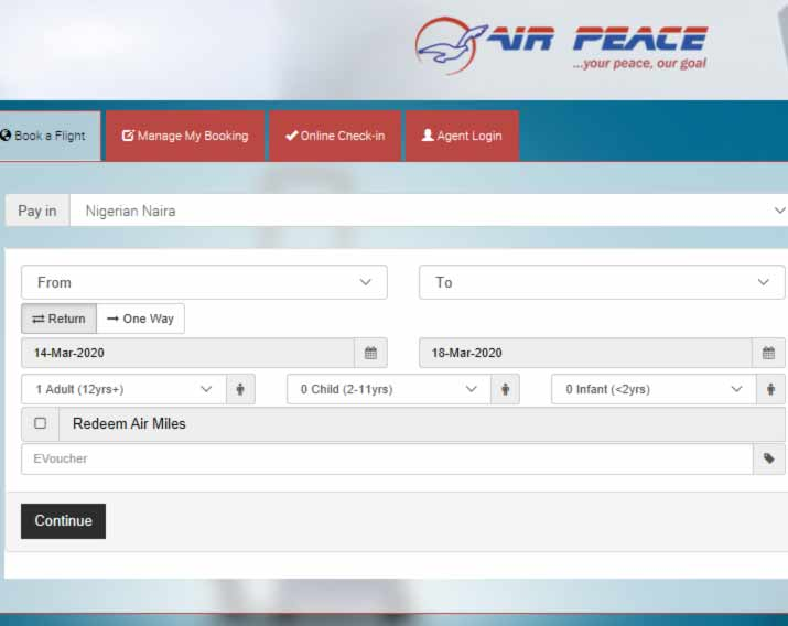 air-peace-booking